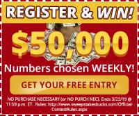 SWEEPSTAKES BUCKS – FREE WIN $50,000 EVERY WEEK – HOW TO MAKE MONEY
